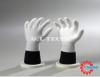 Găng tay phủ PU lòng bàn tay màu trắng